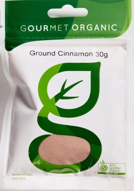 Cinnamon Ground Organic 30g - Gourmet Organics