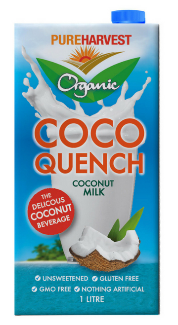 Coco Quench Milk Organic 1L - Pure Harvest