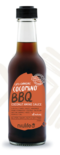 Coconut Amino BBQ Sauce 250ml - Niulife