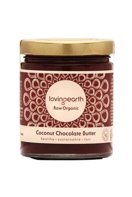 Coconut Chocolate Butter Raw Organic 175g - Loving Earth