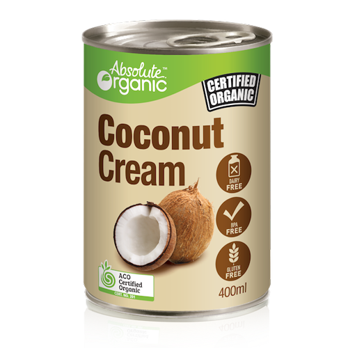 Coconut Cream Organic 400ml - Absolute Organic