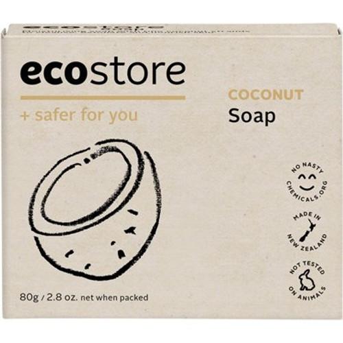 Soap Bar Coconut 80g - Ecostore