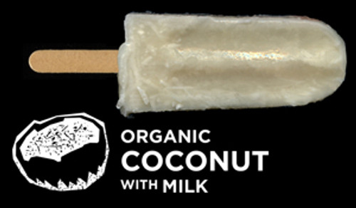 Ice Block Organic Coconut with Milk - Flyin Fox