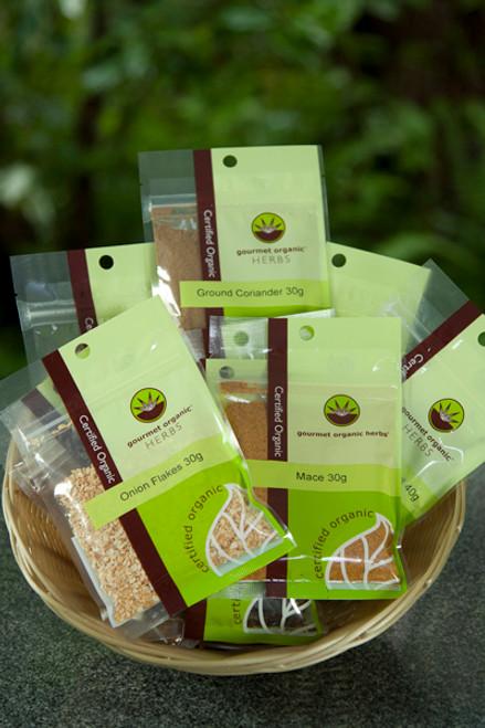 Coriander Ground Organic 30g - Gourmet Organics