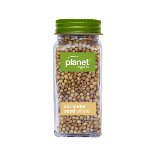 Coriander Seed Whole Shaker 40g - Planet Organic