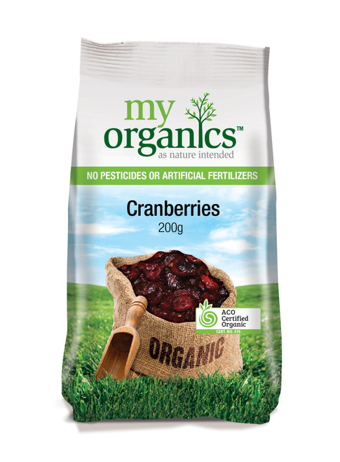 Cranberries Organic 200g - My Organics