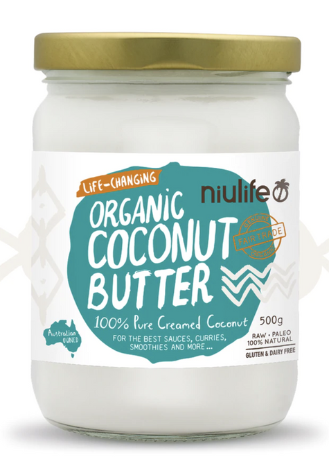 Coconut Butter Creamed Organic 500g - Niulife