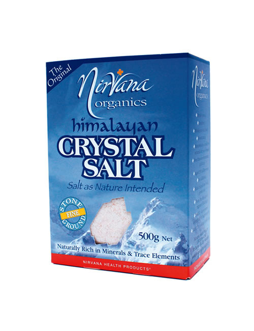 Himalayan Crystal Salt Fine 500g - Nirvana Organics