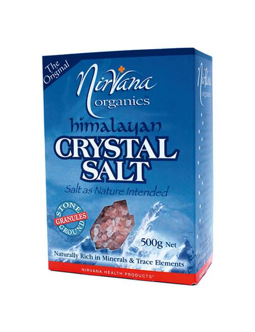 Himalayan Crystal Salt Coarse 500g - Nirvana Organics