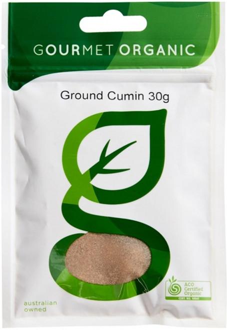 Cumin Ground Organic 30g - Gourmet Organics