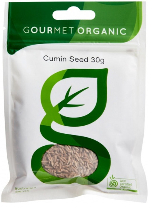Cumin Seed Organic 30g - Gourmet Organics