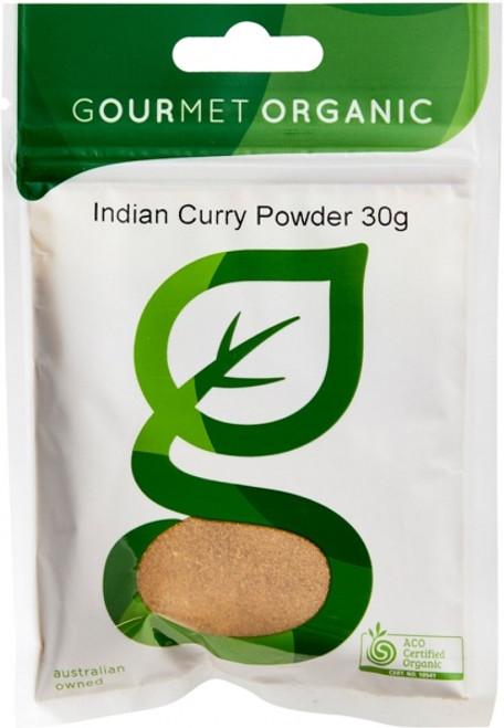 Curry Powder Indian Organic 30g - Gourmet Organics