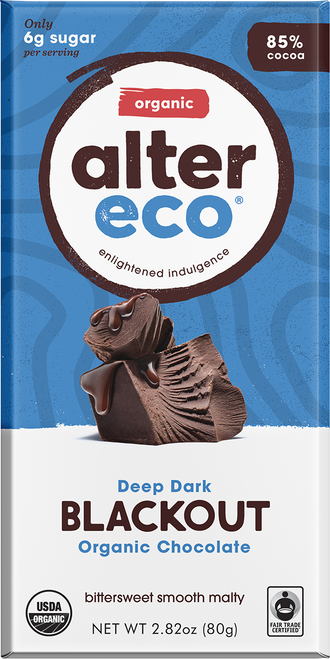 Dark Chocolate Blackout Organic 80g - Alter Eco