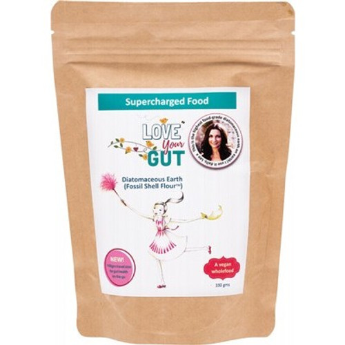 Diatomaceous Earth Love Your Gut Powder 100g - Supercharged Food