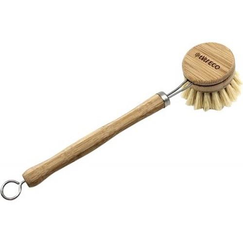 Dish Brush Bamboo Handle, Sisal bristle - Ever Eco