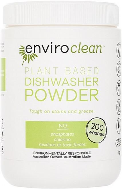 Dishwasher Powder Super Concentrate 1kg - Enviroclean