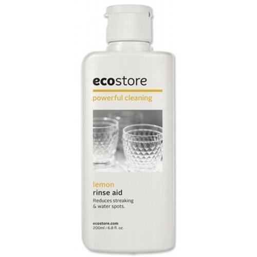 Dishwasher Rinse Aid Lemon 200ml - Ecostore