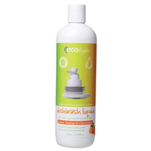 Dish Liquid Sweet Orange & Clementine 500ml - Ecologic