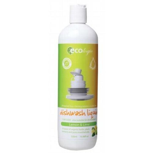 Dish Liquid Lemon Lime 500ml - Ecologic