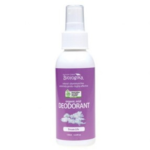 Dream Life Deodorant Spray 125ml Organic - Biologika