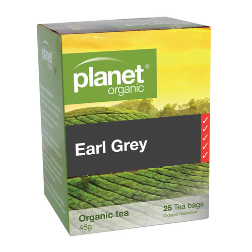 Earl Grey Tea Organic 25 Bags - Planet Organic