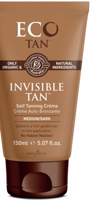 Invisible Tan Medium/Dark Organic 150ml - Eco Tan