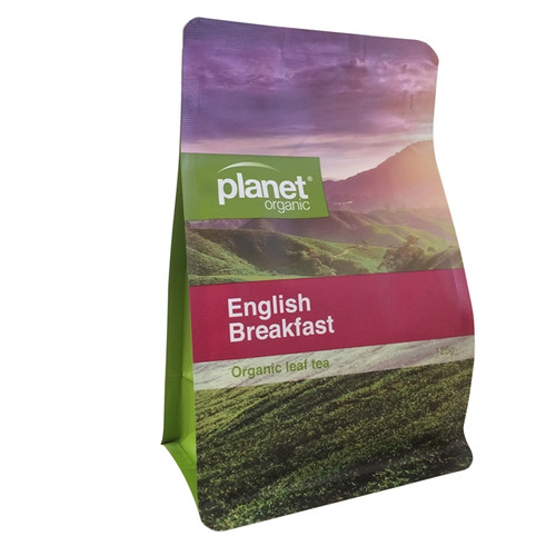 English Breakfast Tea Loose Leaf 125g - Planet Organic