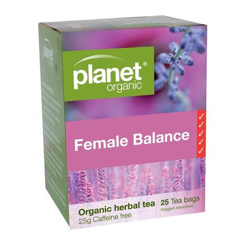 Female Balance Tea 25 Bags - Planet Organic