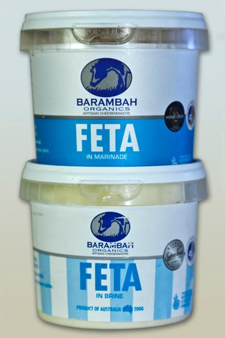 Fetta (Feta) In Marinade Organic 200g - Barambah