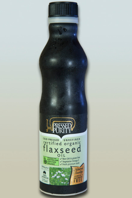 Flaxseed Oil  375ml - Pressed Purity