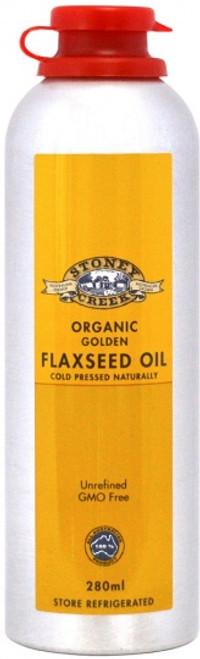 Flaxseed Oil Golden Organic 280ml - Stoney Creek