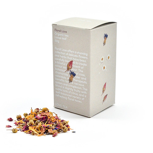 Floral Love Loose Leaf Organic 50g - Love Tea