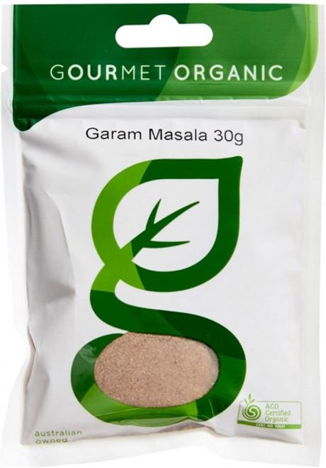Garam Masala Organic 30g - Gourmet Organics