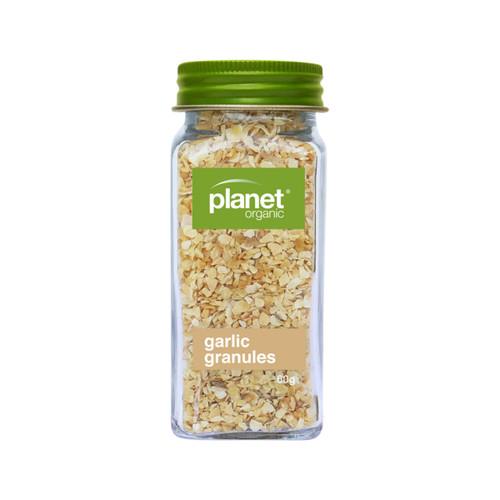Garlic Granules Shaker Organic 60g - Planet Organic