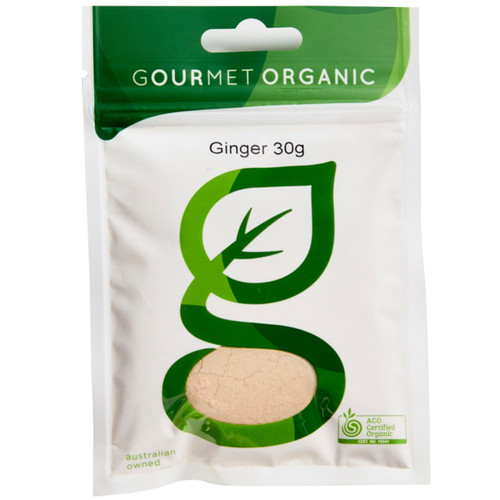 Ginger Ground Organic 30g - Gourmet Organics