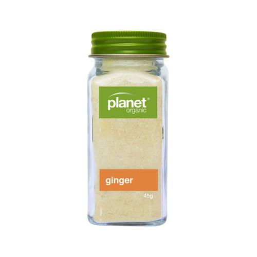 Ginger Ground Shaker Organic 45g - Planet Organic