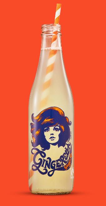Gingerella Ginger Ale Organic 300ml - Karma Cola