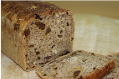 Gluten Free Fruit Loaf Sliced - Sol Organic Bakery 800g *Pre-order to ensure Supply