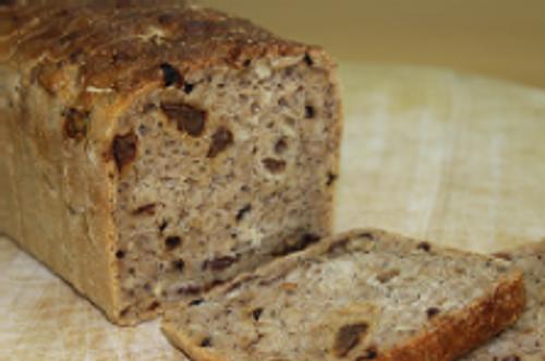 Fruit Loaf Gluten Free (sliced) Organic - Sol Organic Bakery 800g *Pre-order to ensure Supply