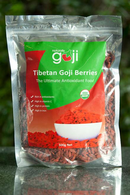 Goji Berries 500g - Absolute Organic