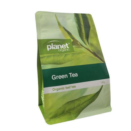Green Tea Loose Leaf 125g - Planet Organic
