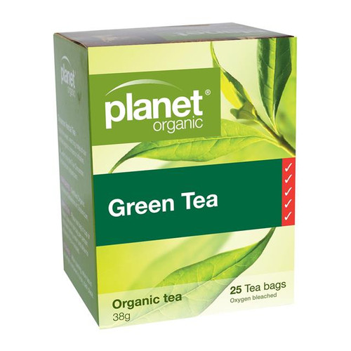 Green Tea 25 Bags - Planet Organic