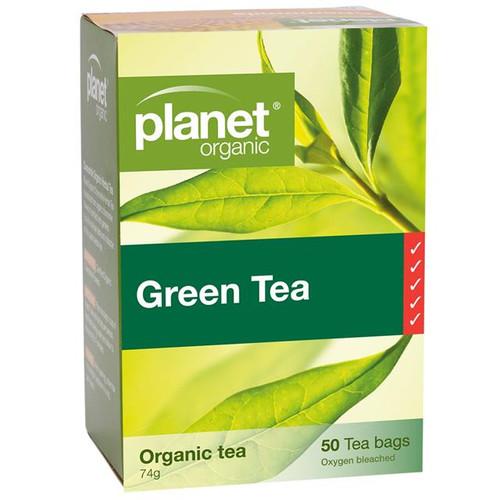 Green Tea Organic 50 Bags - Planet Organic