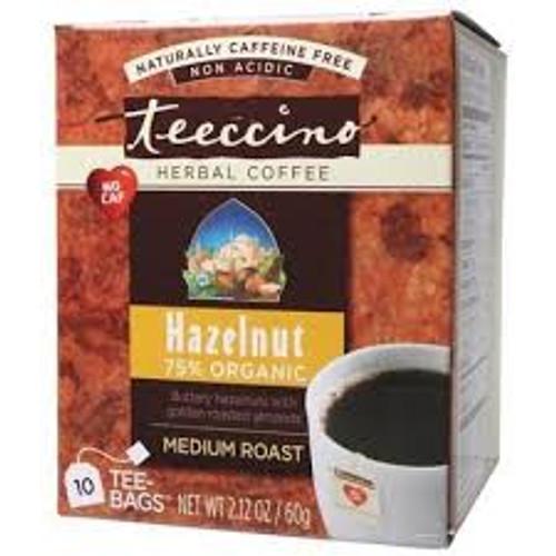 Herbal Coffee/Tea Hazelnut 10 Bags - Teeccino