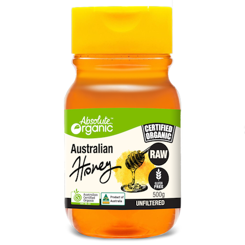 Honey Raw Squeeze 500g - Absolute Organic