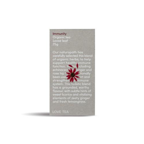 Immunity Tea Loose Leaf Organic 75g - Love Tea