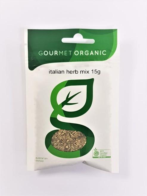 Italian Herb Mix Organic 15g - Gourmet Organics