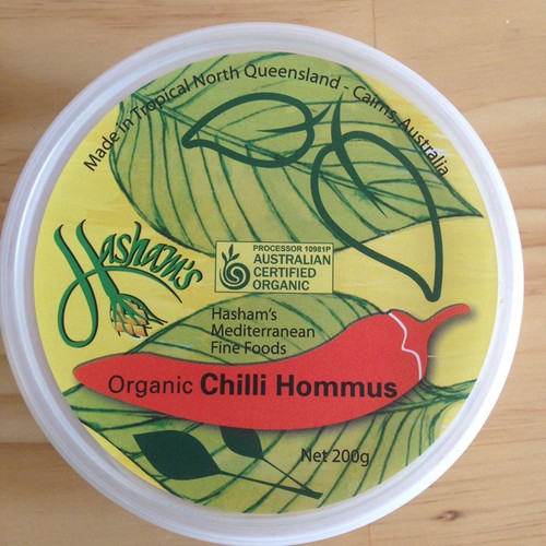 Hommus Chilli All Natural 200g - Hasham's