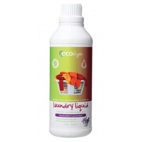 Laundry Liquid Australian Lavender 1L - Ecologic