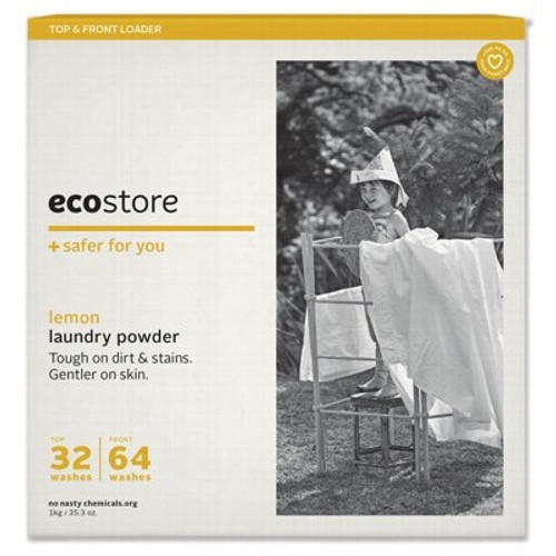 Laundry Powder Lemon Extra Clean 1kg - Ecostore